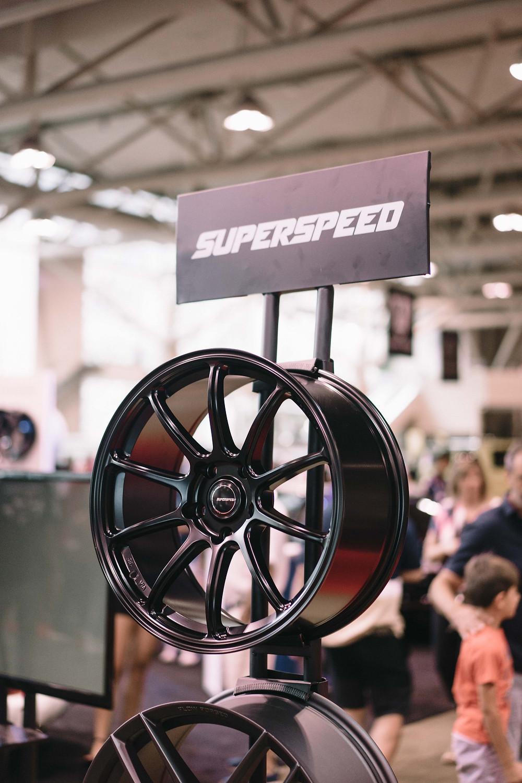 Superspeed Flow Form RF03RR Matt Black