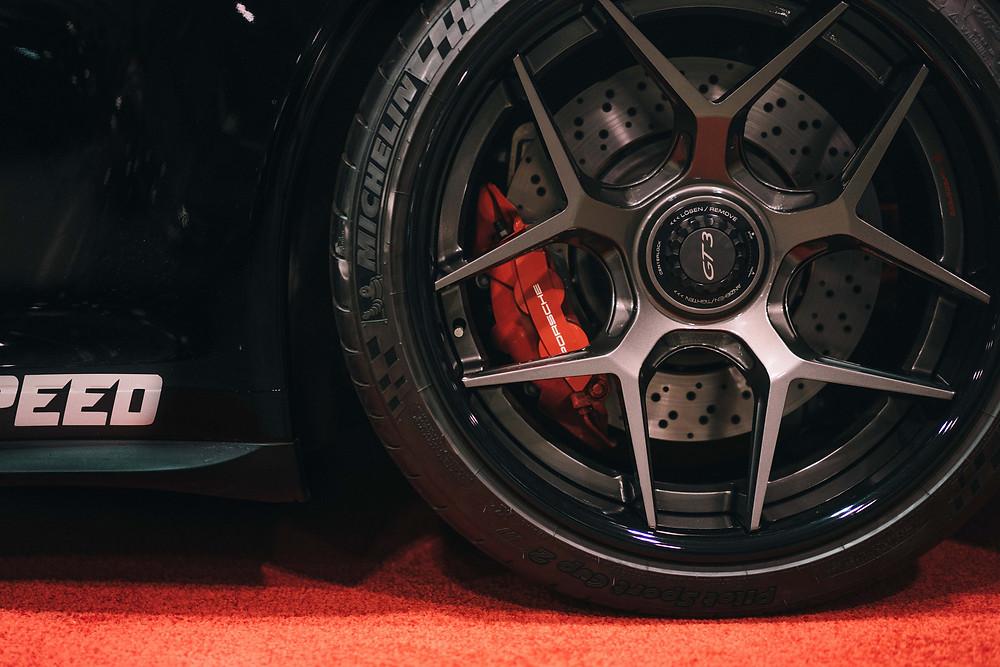 Forged 2PC Center-Lock on Porsche 991.2 GT3