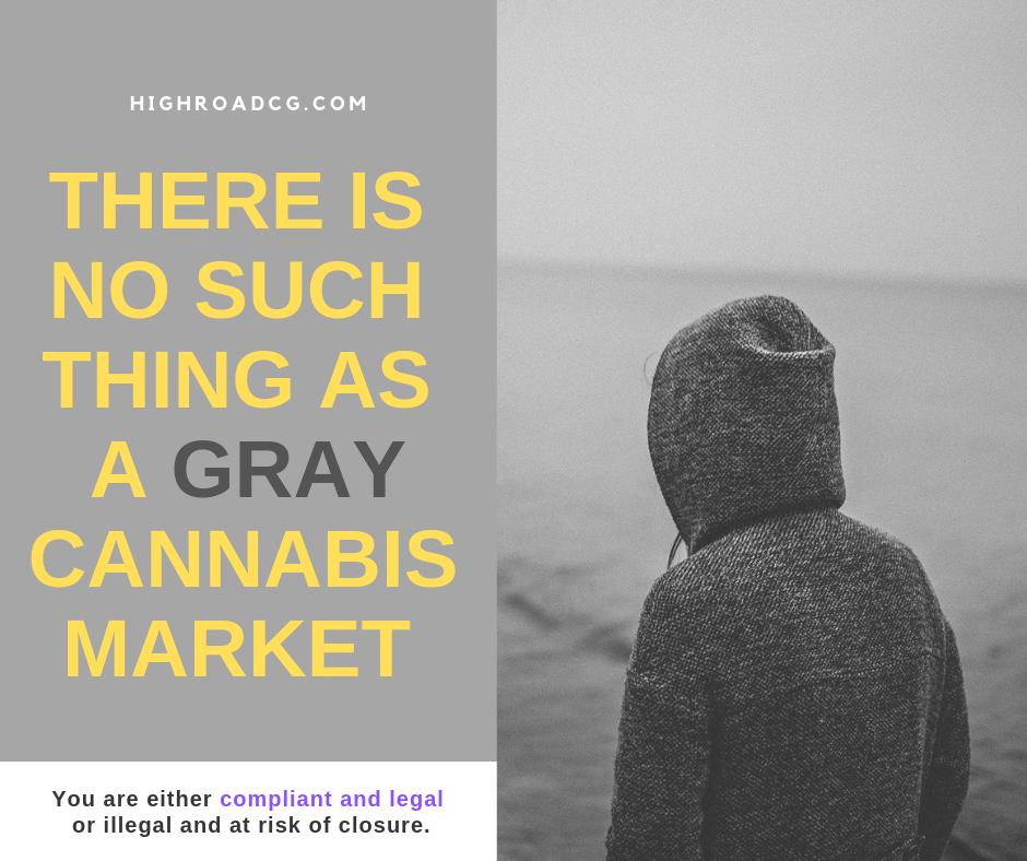 gray cannabis market