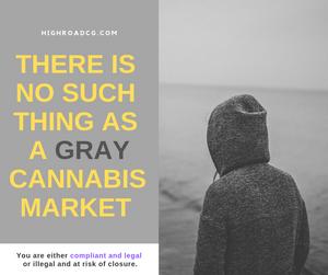 gray cannabis market