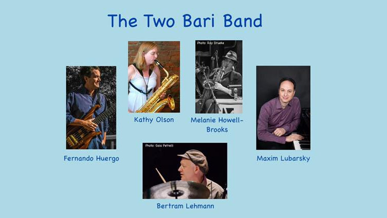 The Two Bari Band   Live in Canton, MA