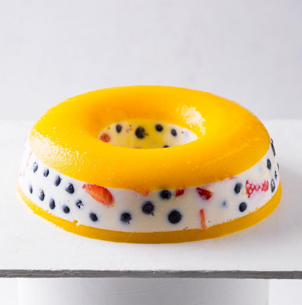 Želė tortas, receptas