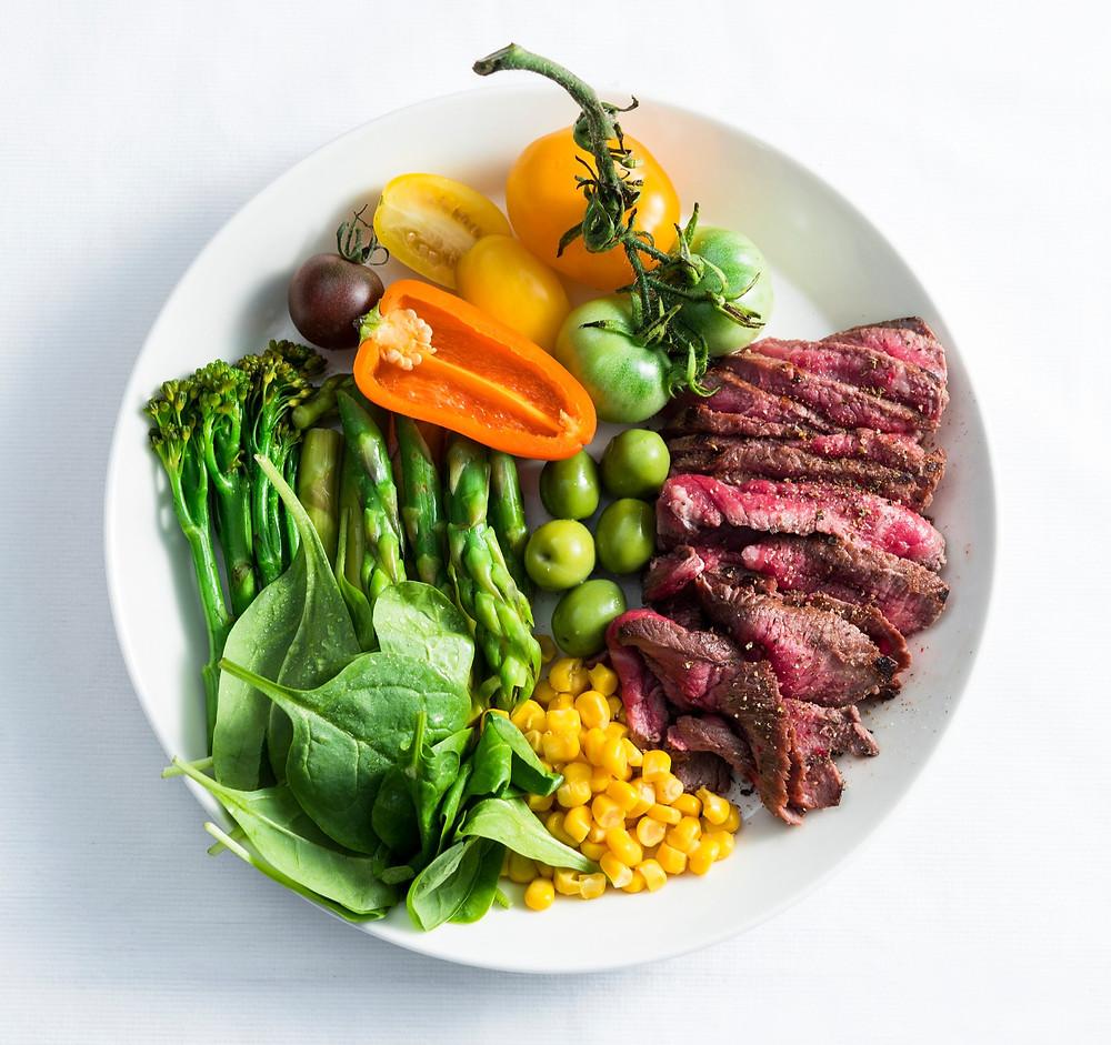 jautienos kepsnus su smidrais ir kitomis daržovėmis, Alfo Ivanausko receptas
