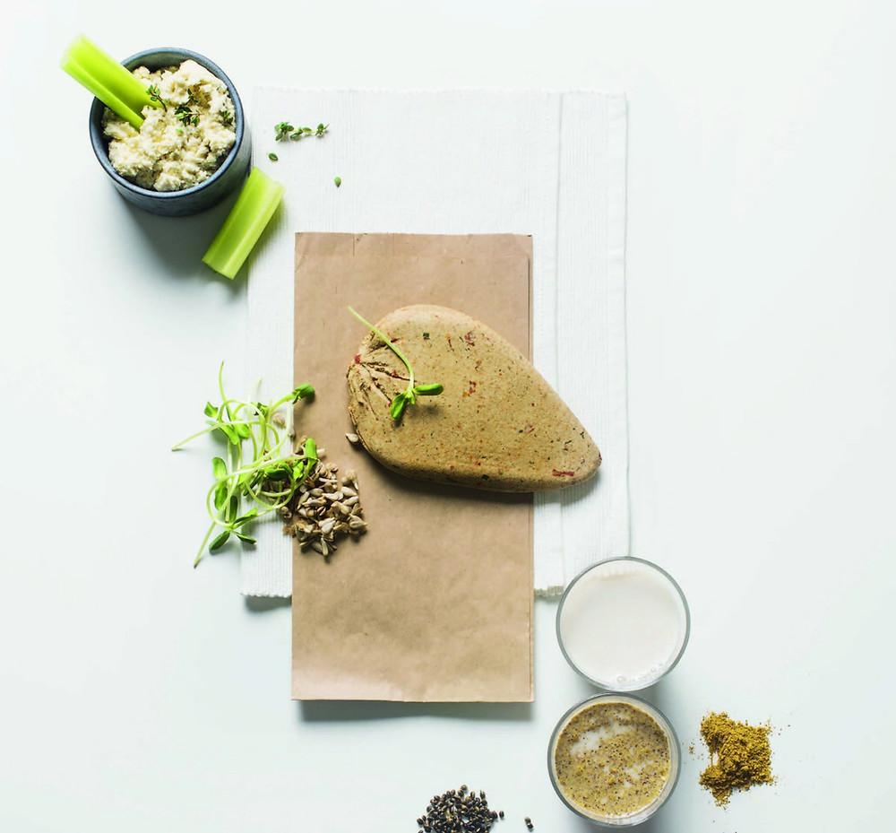 veganiškas daigintų saulėgrąžų sūris, vmgonline receptas