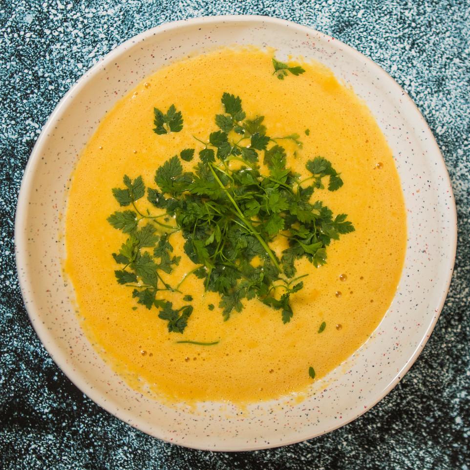 Kreminė moliūgų sriuba, vmg receptas