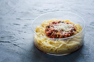 Makaronai su bolonijos padažu, vmg receptas