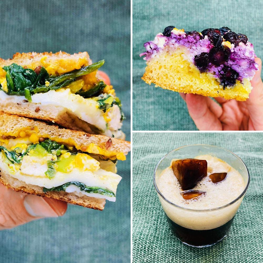 Alfo Ivanausko receptai, kokakolos skonio kava, varškės pyragas, karštas sumuštinis