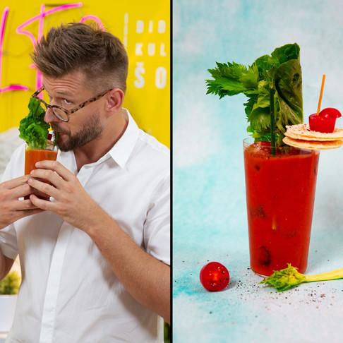 Valgomas sotusis kokteilis – ir pietums, ir vakarienei, ir vakarėliui