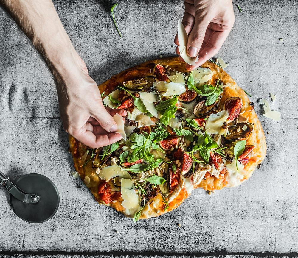 Kaip kepti picą, Alfo patarimai