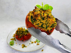 Sultingi ir sotūs įdaryti pomidorai (receptas)