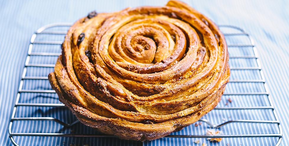 spiralinis pyragas bandele
