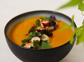 Kreminė sriuba su ciberžole
