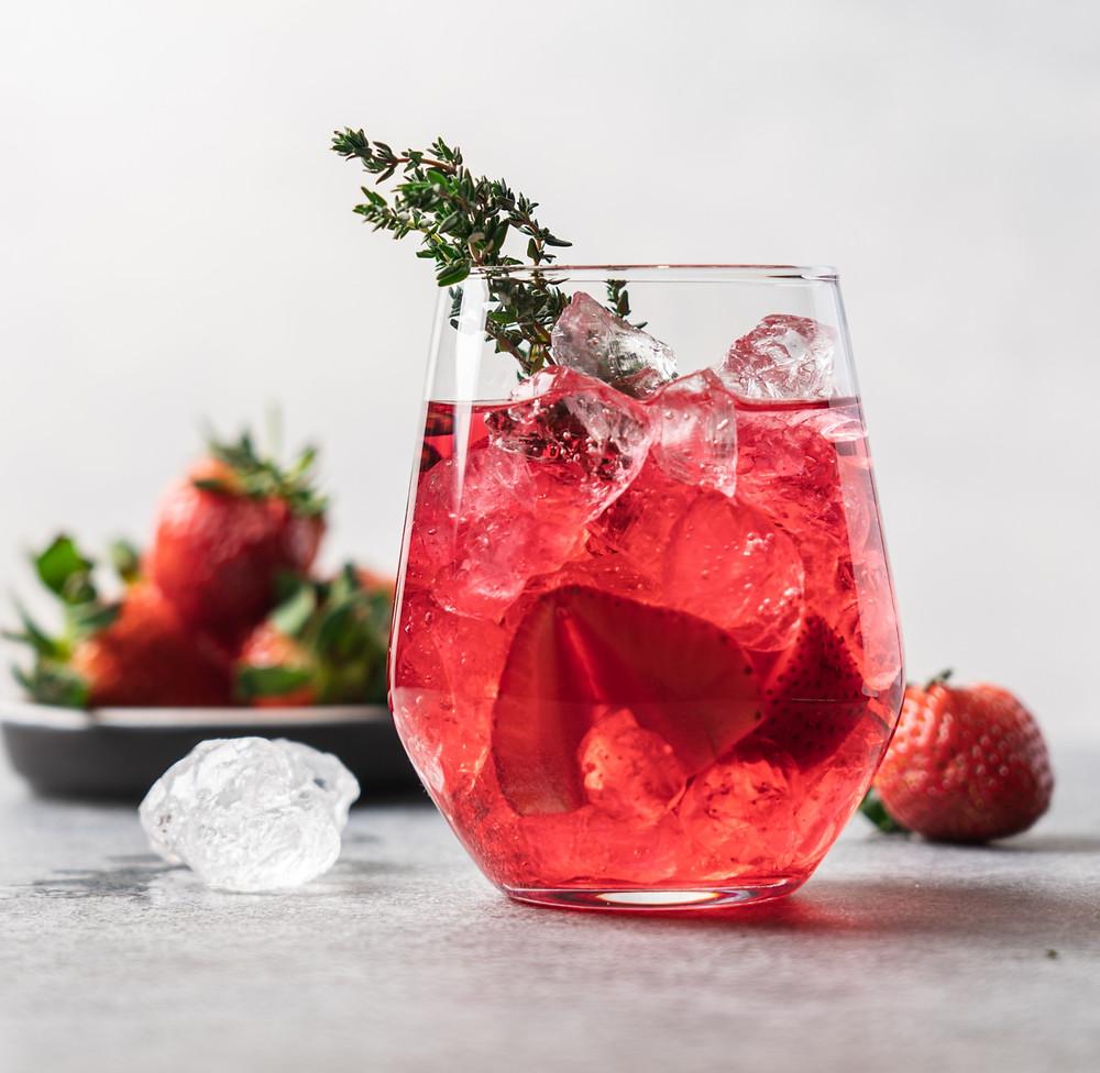 naminis braškinis limonadas, Alfo Ivanausko receptas, vmgonline receptas