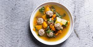 Marga sriuba su antienos kukuliais, vmg receptai