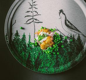 Maža detalė. Pagrindinis triukas – lėkštės dekoras!