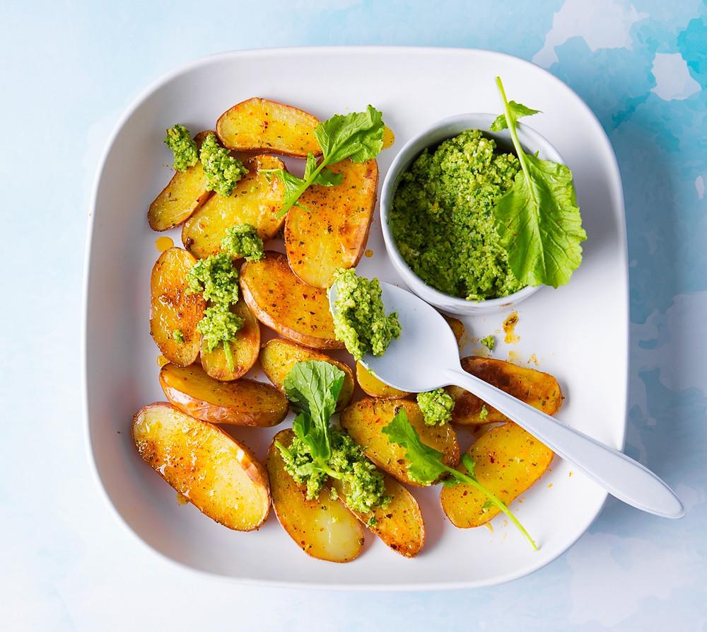 keptos ir virtos bulvės, Alfo Ivanausko receptas