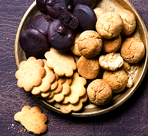 Kakaviniai sausainiai su kardamonu ir apelsinais, vmg receptas