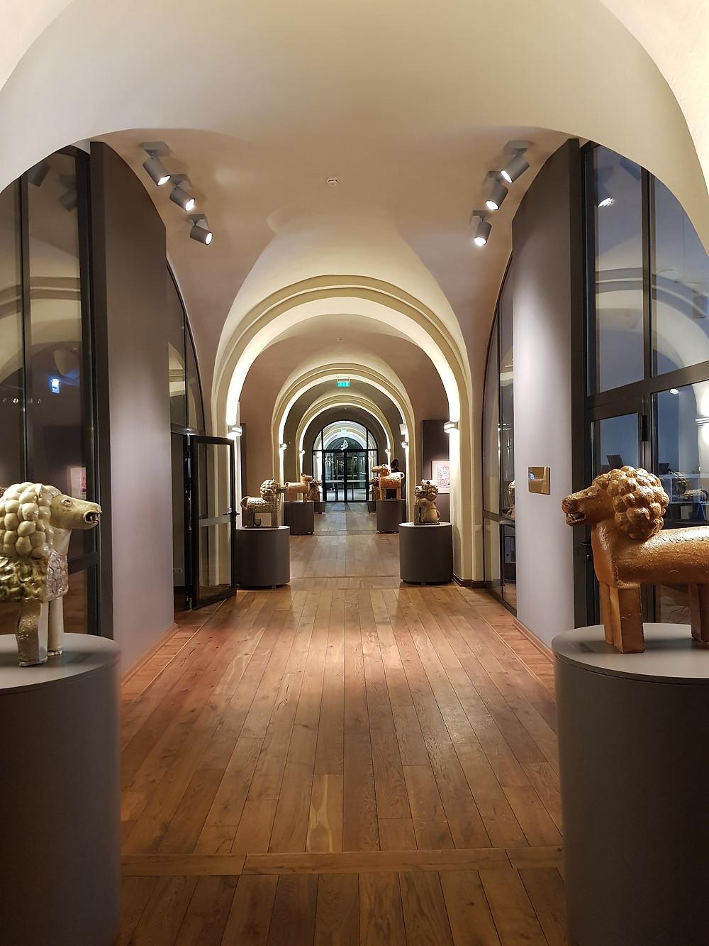Marko Rothko meno centro viduje. Rimos Aukštuolytės nuotr.