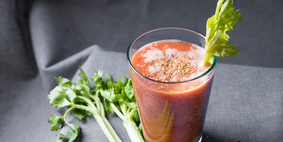 Pomidorų sulčių kokteilis, vmg receptas