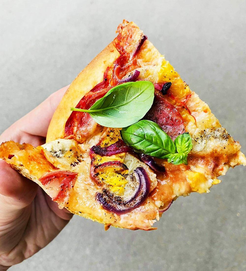 naminė pica, receptas, Alfo receptas