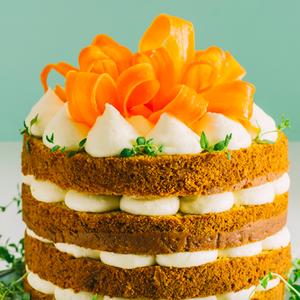 morkų tortas