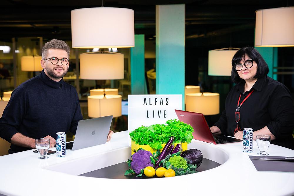 Elžbieta ir Alfas, Alfas Live