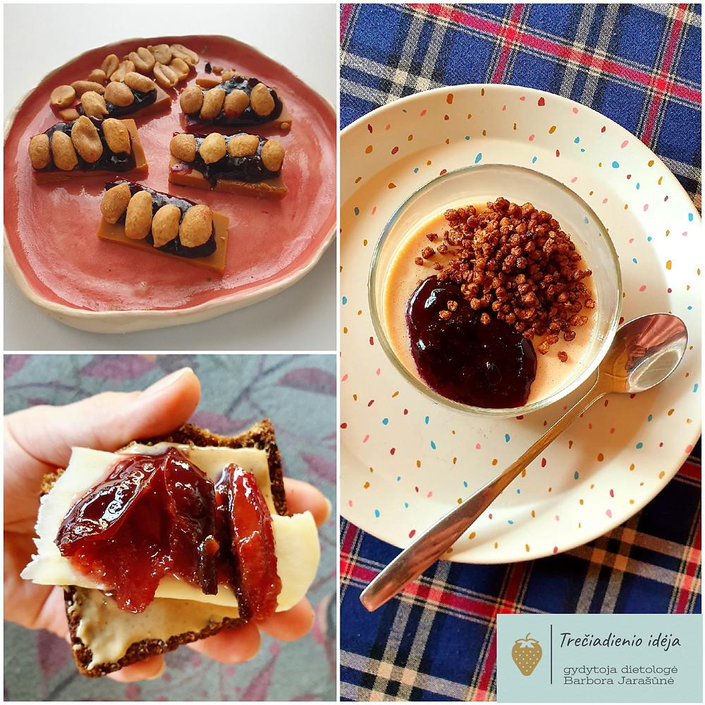 Dietologės Barboros Jarašūnės patarimai, staple food, desertai