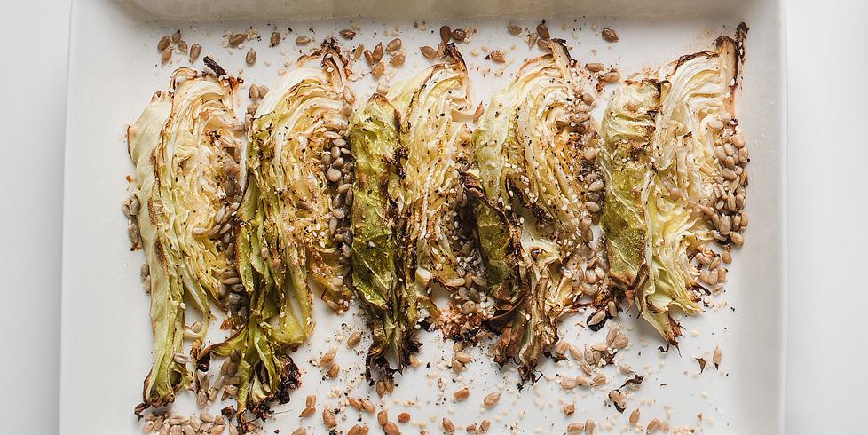 Orkaitėje kepti švieži kopūstai, vmg receptas