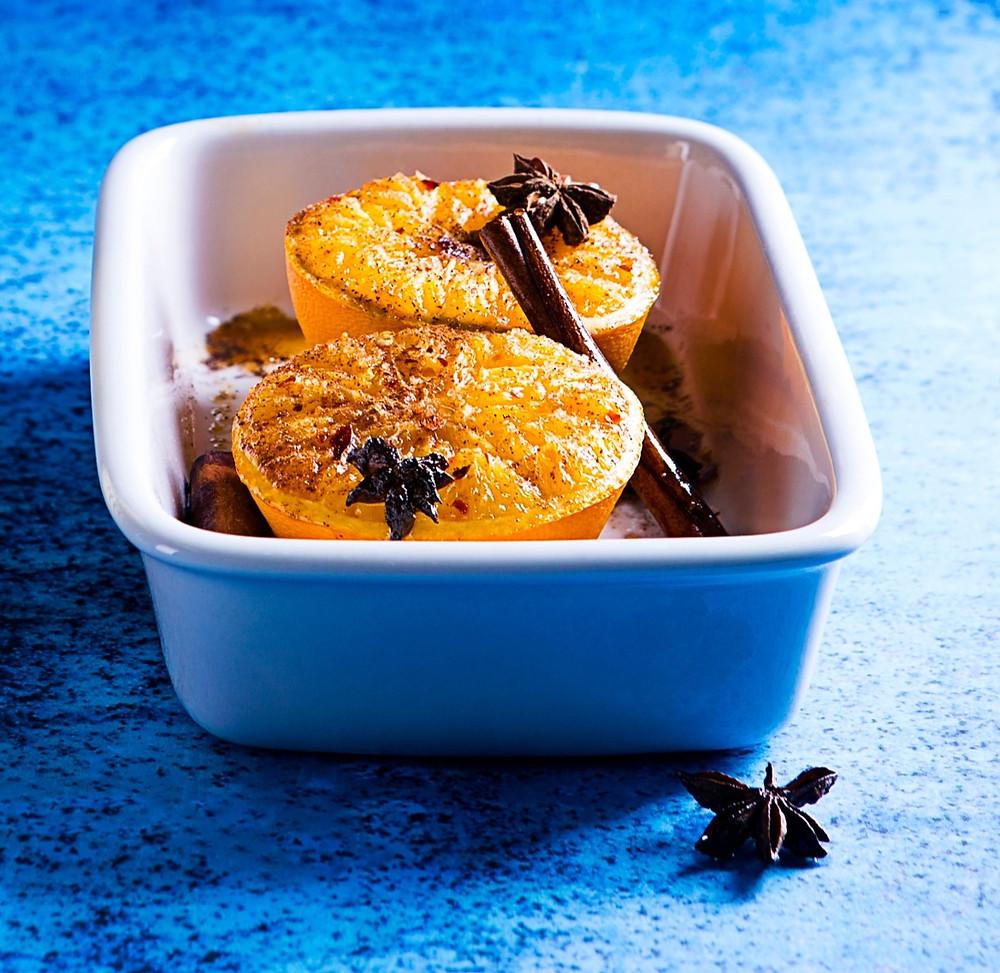 kepti apelsinai, receptas