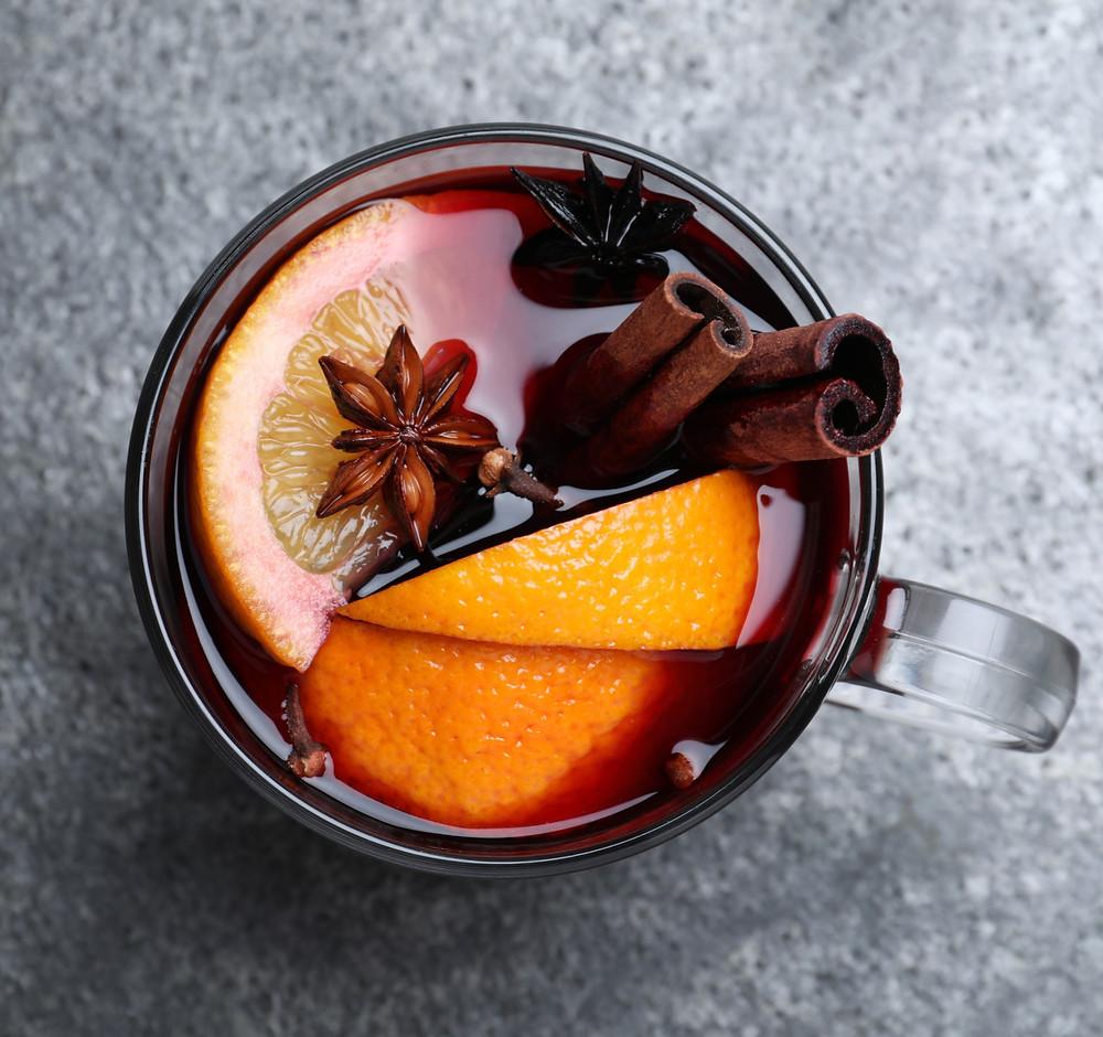 karštas vynas su kava, gėrimai, receptas, šventės, Alfo receptas