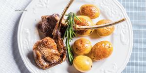 Ėrienos kepsnys su česnaku ir rozmarinu, vmg receptas