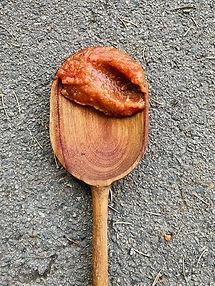 Keptų česnakų kečupas (Alfo receptas)