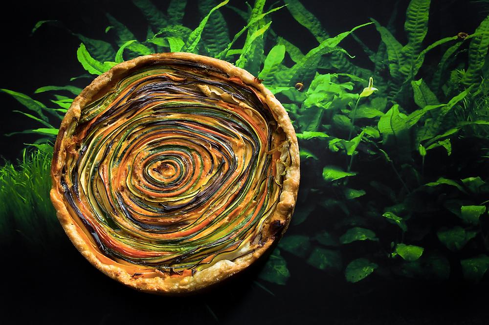 Daržovių pyragas, vmg receptas