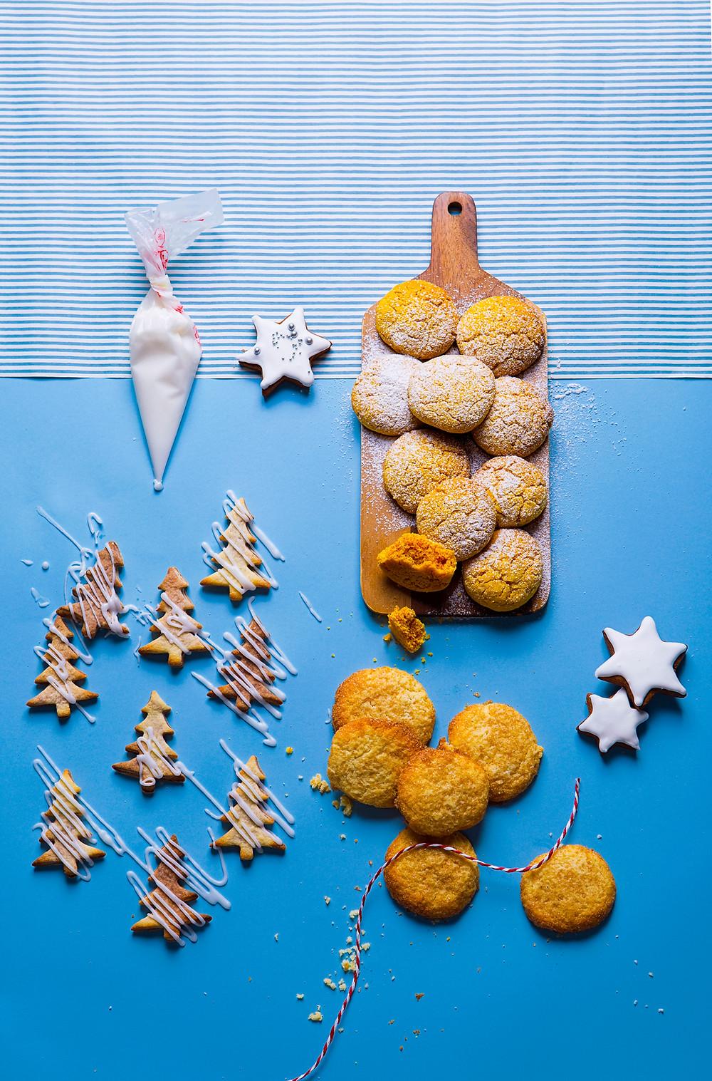 citrininiai cukruoti sausainiai, VMGonline receptai