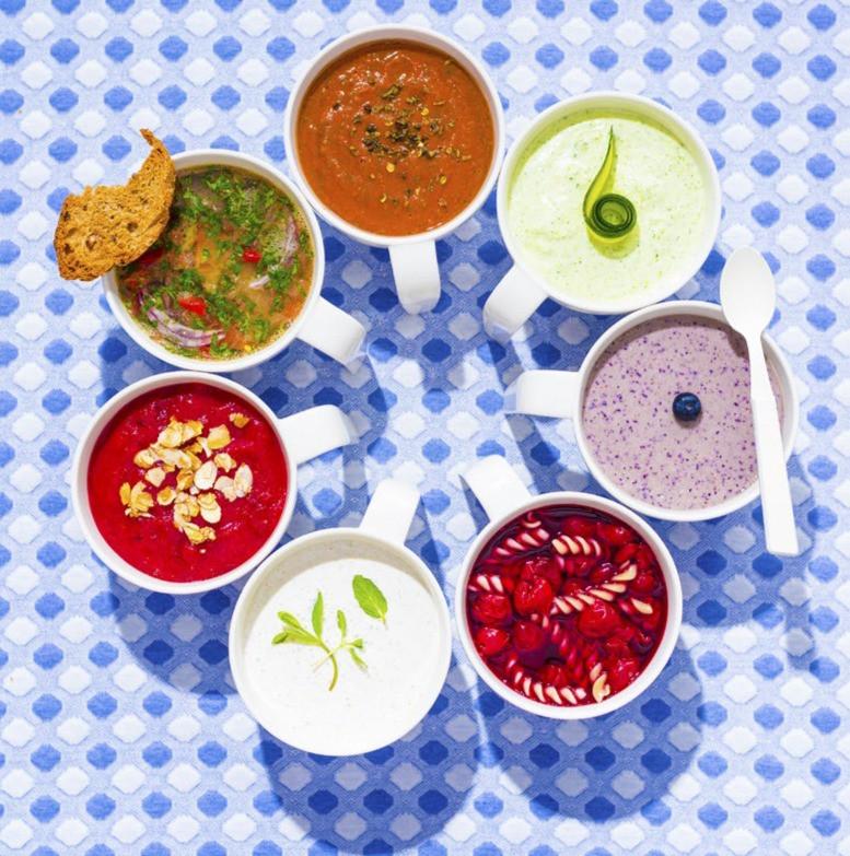 saldi sriuba su makaronais, vyšnių sriuba, receptas