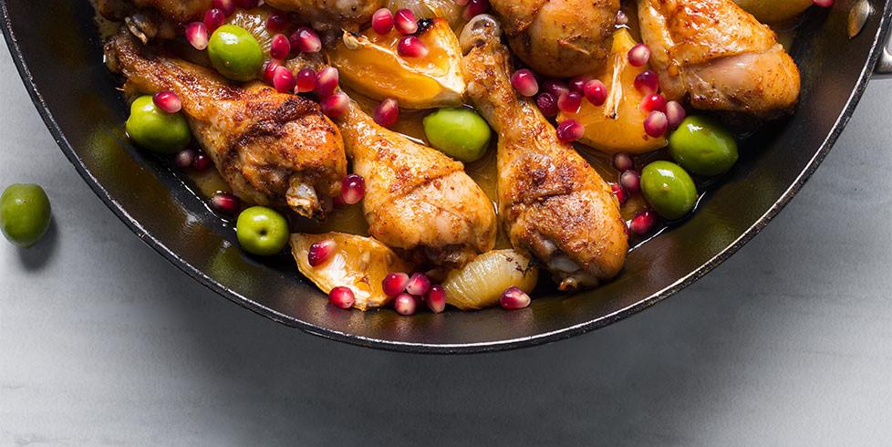 Vištiena marokietišku stiliumi, vmg receptas