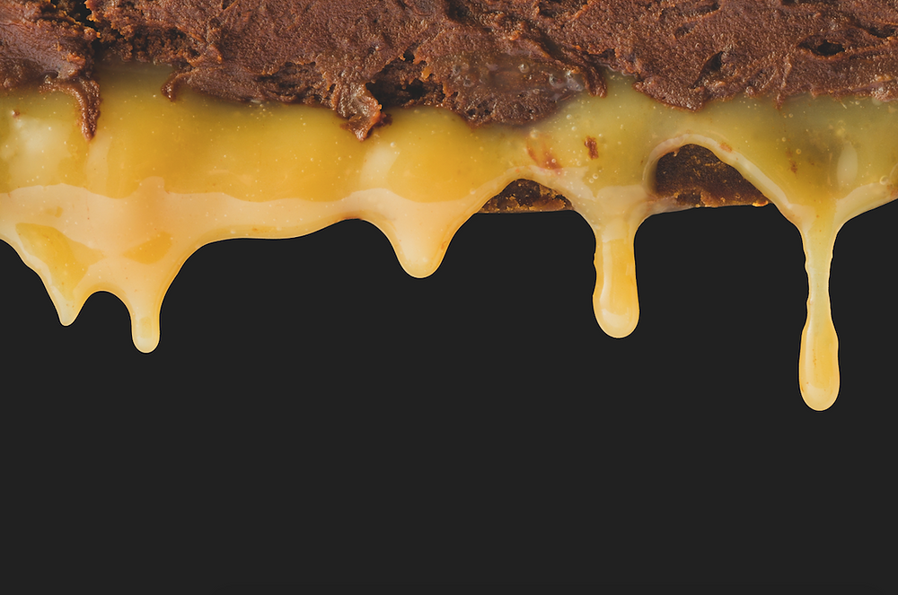 Šokoladinis pyragas su karamele ir druska, vmg receptas