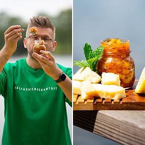 ALFAS VIENAS GAMTOJE receptas: pikantiška uogienė, kuri nudžiugins visus sūrių ir užkandžių mėgėjus
