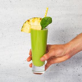 Žaliasis vitamininis kokteilis (Receptas)