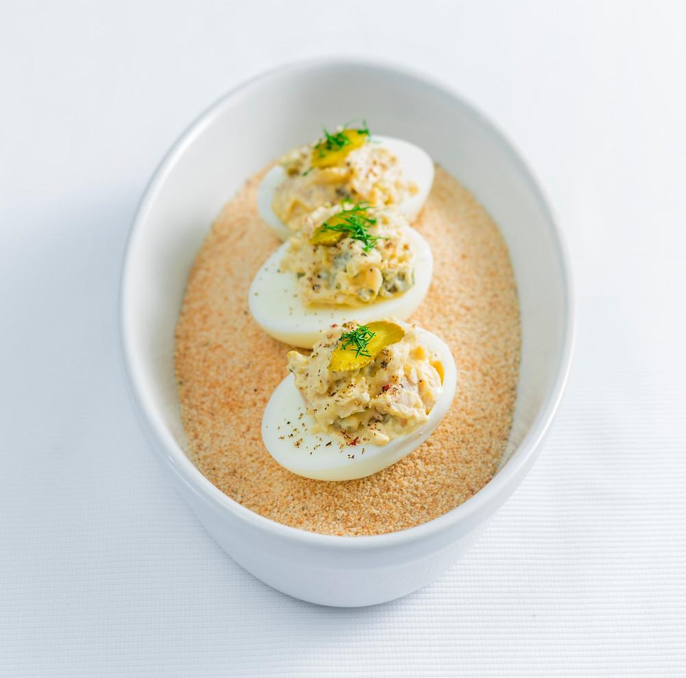 Įdarytas kiaušinis, Alfo receptas