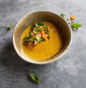 Saldžiųjų bulvių sriuba (Receptas)