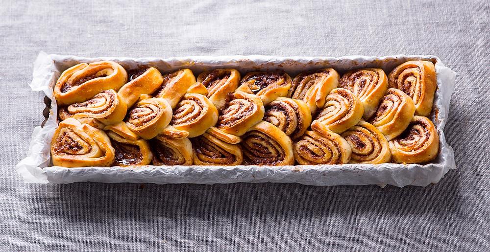 Riekelių pyragas iš picos tešlos, vmg receptai