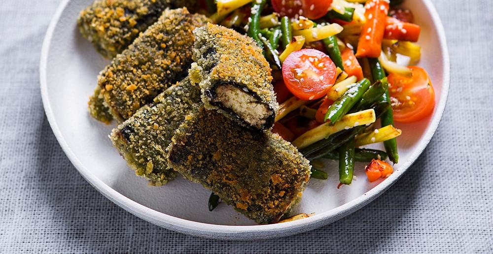 Žuvies skonio tofu piršteliai, vmg receptas