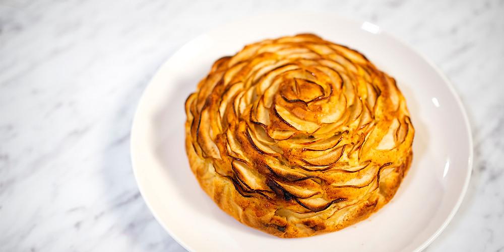 """Pyragas """"Rožė"""", vmg receptas"""