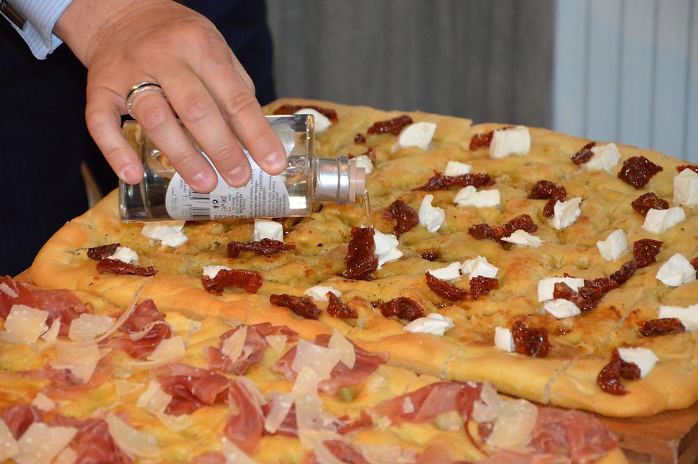 "Massimo Melpighi gardina fokacijas. (""Kulinarijos studijos"" nuotr.)"