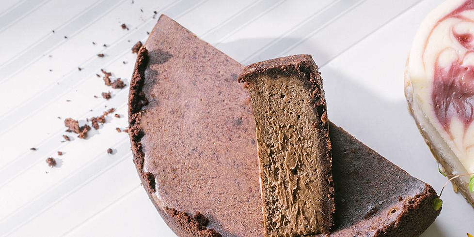 Šokoladinis sūrio pyragas, vmg receptas