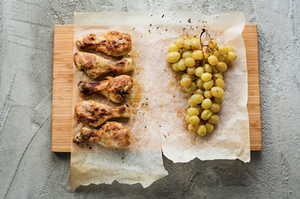 Marokietiškos vištienos blauzdelės, vmg receptas