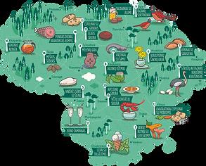Lietuvos gastronominio turizmo gide – nuo agurkų džemo iki kibinų su sraigiena