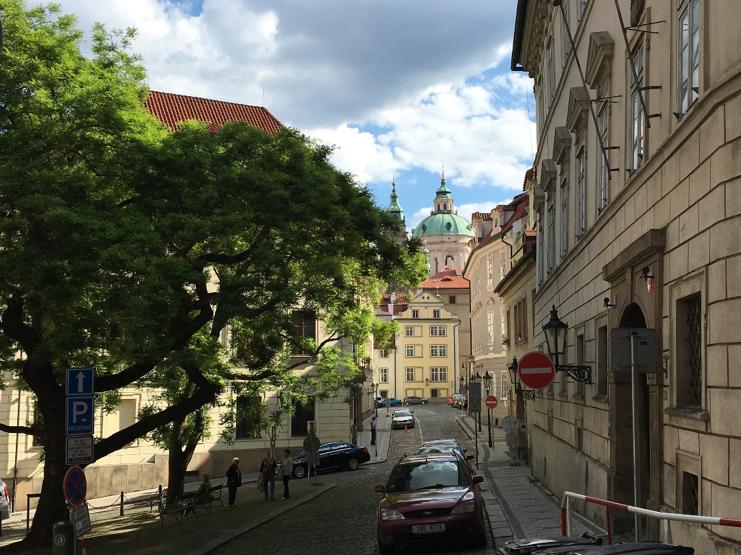 Praha, Mala Strana gatvė.
