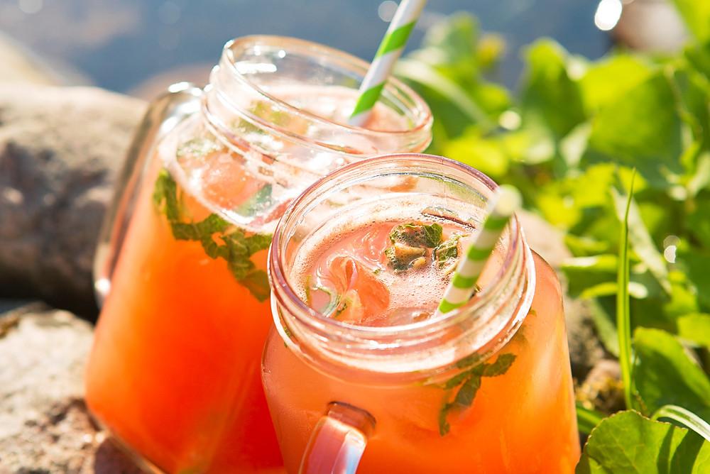 arbūzų ir agurkų limonadas, naminis limonadas, Alfo Ivanausko receptai, vmgonline.lt